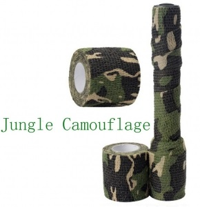 Камуфляжная лента Stealth Jungle Camouflage 4.5 метра на 5 см (WHAL)