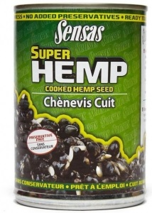 Наживка Sensas Cooked Tinned Hemp 350 г (32.66.95)