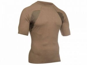 Термофутболка BLACKHAWK! Engineered Fit - Mock Collar Short Sleeve S зеленая (07084BS05FGSM)