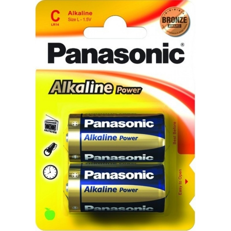 Батарея Panasonic ALKALINE POWER C BLI 2 (LR14REB/2BP) ― Прицел