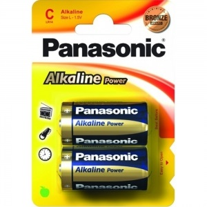 Батарея Panasonic ALKALINE POWER C BLI 2 (LR14REB/2BP)