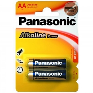 Батарея Panasonic ALKALINE POWER AA BLI 2 (LR6REB/2BP)