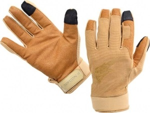 Перчатки Defcon 5 SHOOTING GLOVES WITH LEATHER PALM COYOTE TAN S ц:песочный (D5-GLAV01 CT/S)