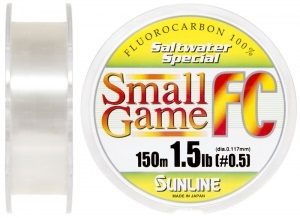 Флюорокарбон Sunline SWS Small Game FC 150м 0.117мм 1.5LB матч/тонущ. (1658.03.46)