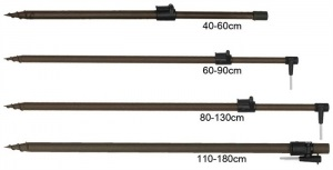 Стойка Prologic New Green Telescopic Bankstick 80-130 cm (1846.04.94)