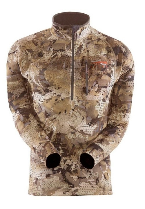 Pricel.com.ua | Кофта SITKA Traverse Zip-T Optifade Waterfowl. Цена, купить Кофта SITKA Traverse Zip-T Optifade Waterfowl: обзор, отзывы, описание, продажа.