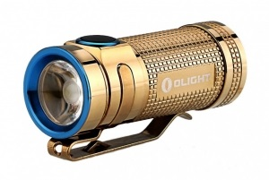 Фонарь Olight S mini Limited Copper Gold 550 lm (SMINI-CRG)