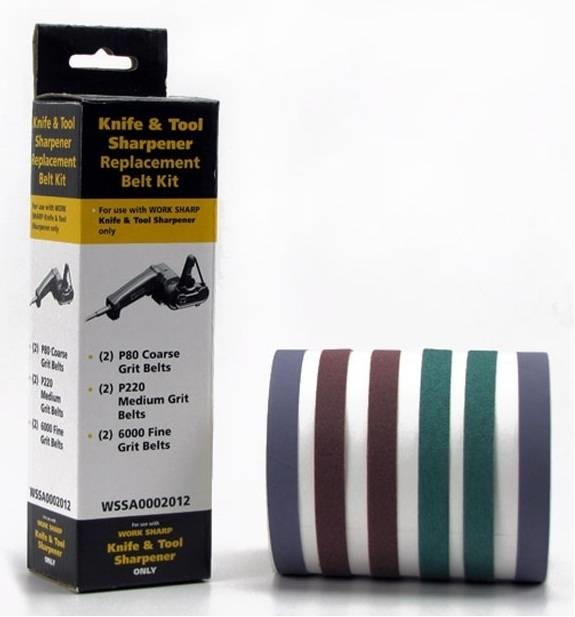 Запасные ленты WSKTS ASSORTED BELT KIT (6 лент) к точилке Darex Work Sharp (WSSA0002012) ― Прицел