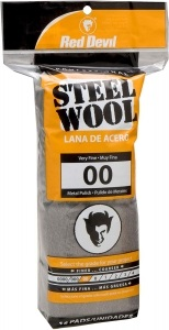 Стальная вата Red Devil Steel Wool 00 Very Fine 16 Pads (0312)