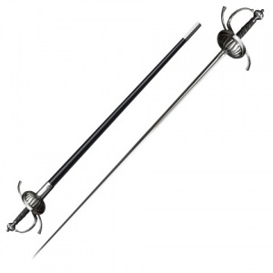 Меч Cold Steel Ribbed Shell Swept Hilt Rapier (88CHR)