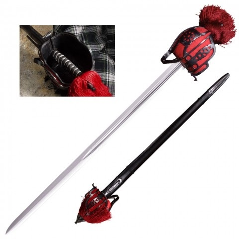 Меч Cold Steel Scottish Broad Sword (88SB) ― Прицел