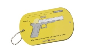 Брелок-инструкция Real Avid Glock Field Guide (AVGLOCKR)