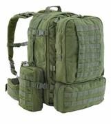 Рюкзак Defcon 5 EXTREME FAST RELEASE MODULAR FULL MOLLE BACK PACK OD ц:оливковый (D5-S100024 OD)
