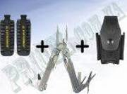 Мультитул Leatherman Charge TTi 42 Bit Kit + кожаный чехол