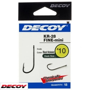 Крючок Decoy KR-28 Fine mini 10 (1562.03.29)